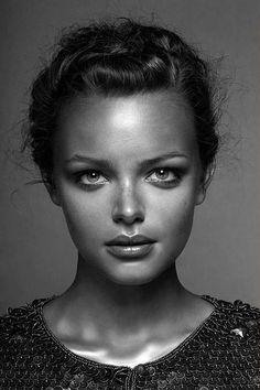 #portrait young #woman