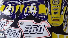 HUSQVARNA TE 610, KIT DECALS COMPLETE !!!excellent quality!!FREE SHIPPING