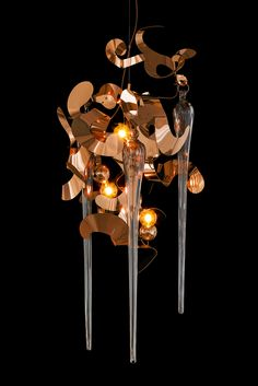 our populair Kelp Fortuna contemporary chandelier in red copper finish. See all our modern chandeliers and contemporary lighting collections at WWW.COM or get in touch for custom lighting requests or interior design lighting projects Modern Dining Room Lighting, Modern Lighting Design, Modern Floor Lamps, Interior Lighting, Custom Lighting, Modern Sculpture, Lighting Sculpture, Handmade Chandelier, Contemporary Chandelier