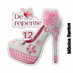 Barbie, Printables, Heels, How To Make, Cake Toppers, Teenager Birthday, Shoe Art, Princesses, Drawings