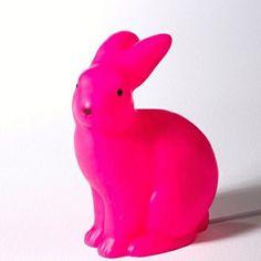 Lampe lapin rose - La Redoute