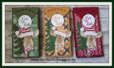 Stempel, Farben & Spaß: Adventskalender Verpackung