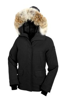 Canada Goose Outlet Women Aosta Bomber Black With No Tax - $359