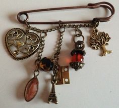 """Keep it together"" Kilt pin brooch from phantasmagoricaljewellery@gmail.com"