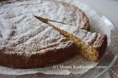 Monas Kjøkkenskriverier: Spansk sitron- og mandelkake (glutenfri)