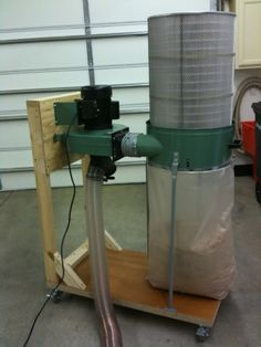 Harbor Freight dust collector upgrade