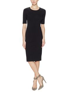 Raquel Jersey Crewneck Dress from  on Gilt