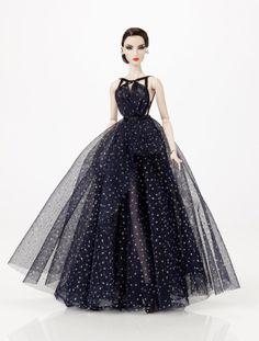 Midnight Star Elise // Inside the Fashion Doll Studio