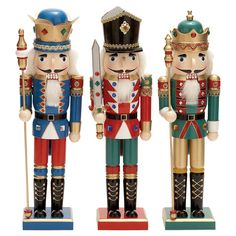 3-Piece Nutcracker Set