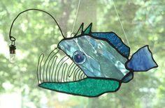 Deep Sea Angler Fish. by trilobiteglassworks on DeviantArt