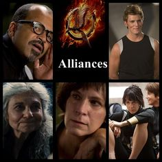 """The Hunger Games Catching Fire """" The Alliance"""" Beetee, Finnick, Mag, Wire, Johanna"""