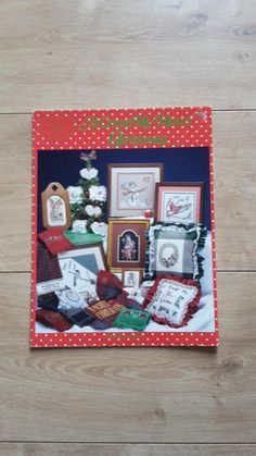 A Cross My Heart Christmas Cross Stitch Booklet by Melinda
