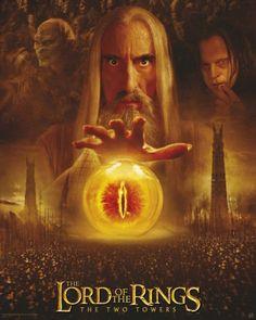 Poster Lord of the rings Le seigneur des anneaux Sarumane