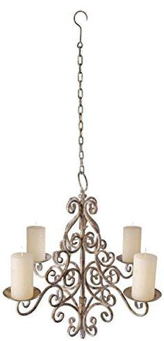 Esschert Design AM06 Aged Metal Chandelier