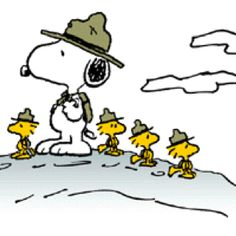 Scout Leader Snoopy