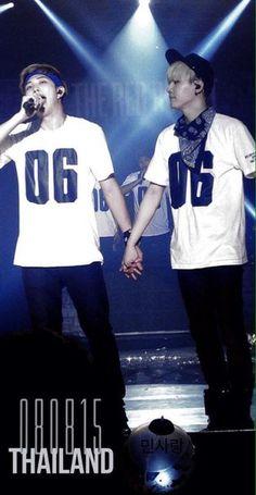 Namjoon and Suga   So cute❤❤