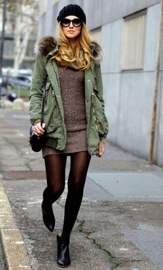 military jacket is my favorite fall/ winter accessory.