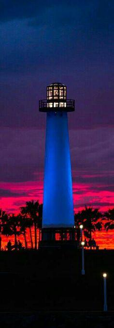 """USA on Twitter: """"#Lighthouse In The Firey Sky - Long Beach…   -   http://dennisharper.lnf.com/"""