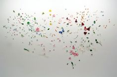 jim hodges CHAIN art | Jim Hodges' A Diary of Flowers