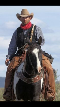 a real cowboy needs a horseYou can find Real cowboys and more on our website.a real cowboy needs a horse Hot Cowboys, Real Cowboys, Cowboys And Indians, Black Cowboys, Cowboy Love, Cowboy And Cowgirl, Cowboy Hats, Cowboy Ranch, Sombrero Cowboy