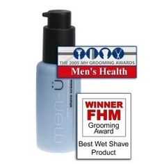 Men-U Shave Cream review - This mint scented shaving cream provides a great lather and leaves your skin smooth. Men's Health named this The Best Shave Cream.