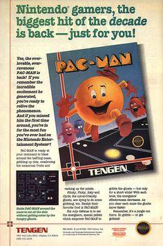 Pac Man ad