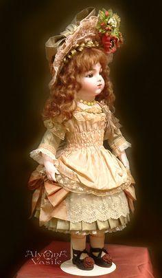 Очарование старинных кукол