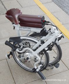 Bespoke E-Bikes Brompton electric bike image copyright Peter Eland/Electric Bike Magazine