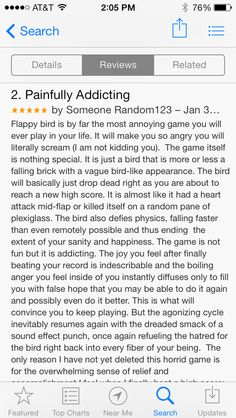 Another Flappy Bird review www.flappybirds.co.uk www.flappygame.com Top Computer, Crazy Games, Flappy Bird, Best Facebook, Drive Me Crazy, Angry Birds, Going Crazy, I Laughed, Apps