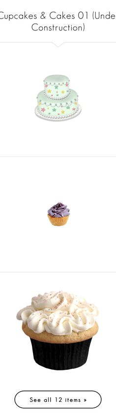 """Cupcakes & Cakes 01 (Under Construction)"" by kelsjax ❤ liked on Polyvore featuring home, kitchen & dining, food, fillers, purple, purple fillers, cupcakes, birthday, birthdays and cake"