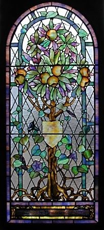 Stained Glass Window.  (pin via Inspiration Lane)