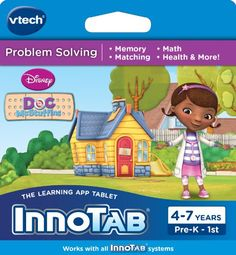 VTech InnoTab Software, Disney's Doc…