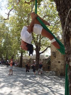 SDFeature: Aerial Silks, Eleni Ziampara   Soft Dlight