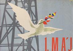 Poster for Labor Day - May 1st 1957 Grafický dizajn | Web umenia