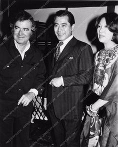 photo candid Toshiro Mifune Jack Smight Miiko Taka war film Midway 2919-27