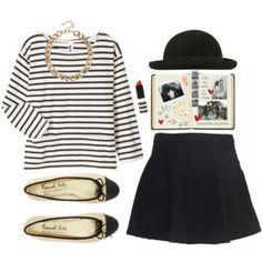 Stripes. Re-pin if you like. Via Inweddingdress.com #fashion