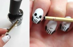 Crazy nail art inspiratie - Girlscene