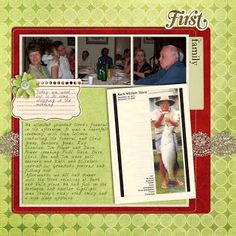 December Daily Foundation Pages @Melissa Shanhun from Digital Scrapbooking HQ http://www.digitalscrapbookinghq.com/december-daily-foundation-pages/