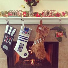 Our Star Wars/Christmas baby announcement!
