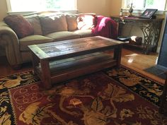 Barn Wood Coffee Table by AmbroseCraftsStore on Etsy https://www.etsy.com/listing/461664708/barn-wood-coffee-table