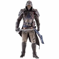Assassin/'s Creed 17 cm Series 4 Arno Dorian Eagle Vision Outfit Figure
