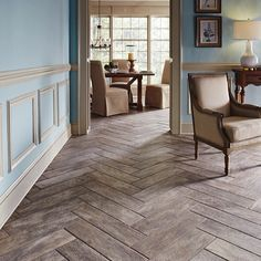 .@Home Depot   Create a rustic look in your home by installing wood-like porcelain tiles in ...   Webstagram