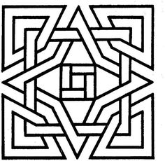 geometric shapes cartoon coloring page - Coloring Pages Shapes