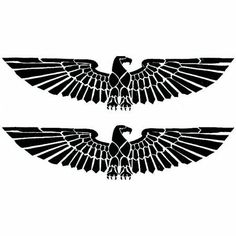 Large Phoenix Tattoo by Raven. $1.75. Temporary Tattoo. In Stock. 4.5x1. Two tattoo images of a black phoenix bird with wings spread in old Egyptian Style.. Save 50% Off!