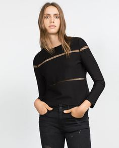 Image 2 of CUT OUT SWEATER from Zara