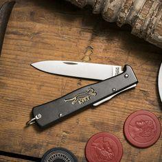 Mercator K55K Black Cat Knife Pocket Knife by Otter-Messer - Cool Material - 1