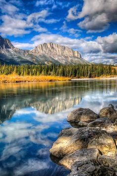 Mount Yumnuska, Kananaskis Country, Alberta, Canada; photo by Brandon Smith