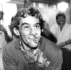 Ravageurs love cake. | Ayrton Senna