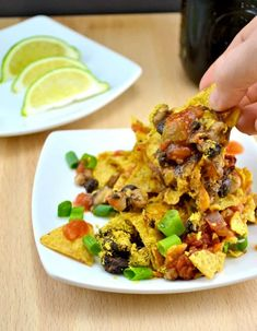 "This recipe for delicious vegan taco casserole includes layers of protein, crunchy chewy tortilla chips, and nutritional yeast for a ""cheesy"" flavor."