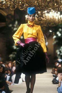 Yves Saint Laurent   Fall 1982
